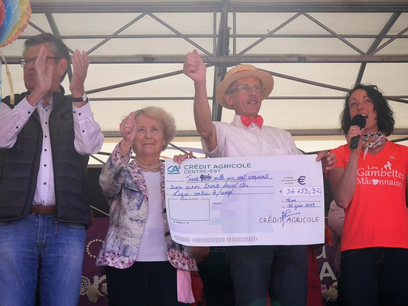 Gambettes2019 Remise cheque